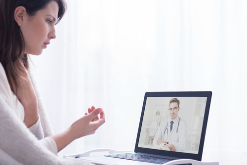 CF Patients and Families Favoring Telehealth as Option for Care