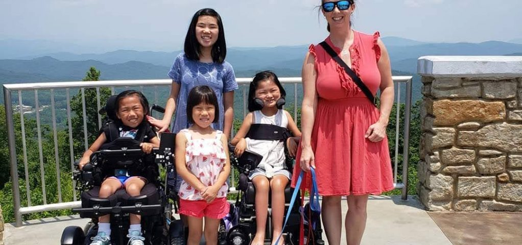 Mother Raises 4 Adopted Girls From China With SMA, Chronic Illnesses