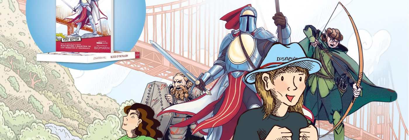 Novel Illustrates Life With Hemophilia, Dungeons and Dragons
