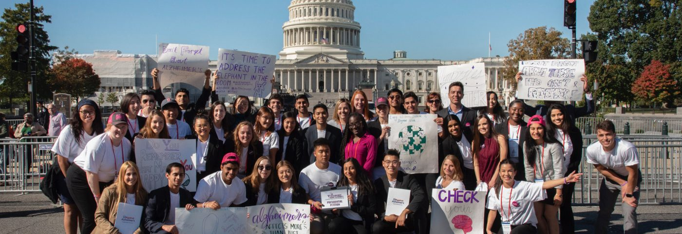 Movement Gets Youth Involved in Alzheimer's Advocacy, Education