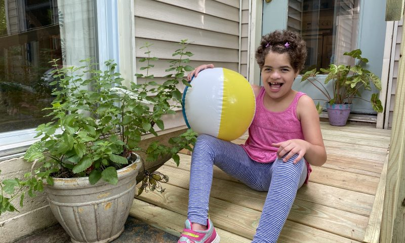 For Our Family, Independence Means Our Angel Can Walk Outdoors