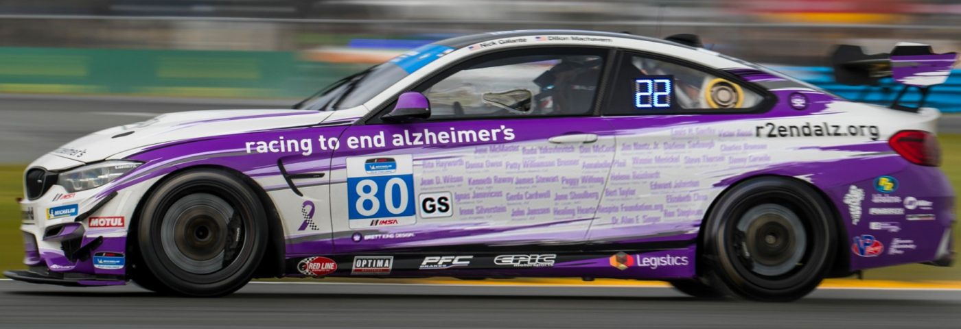 Alzheimer's Nonprofit Uses Race Cars to Raise Funds, Honor Patients