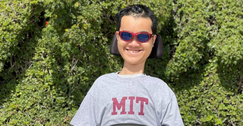 SMA Doesn't Stop Teen From Pursuing Academic Dreams at MIT